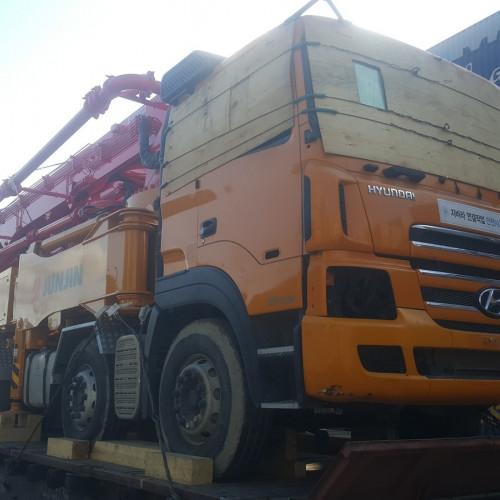 Доставка бетононасоса в Узбекистан