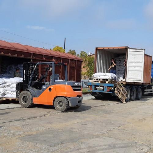 Перевозка сои на экспорт